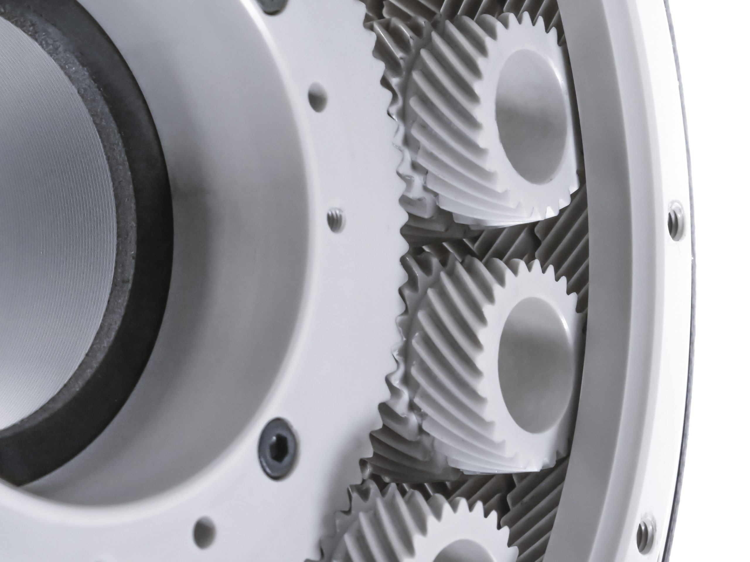 Close up of a gear
